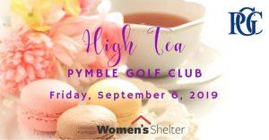 Save the Date: High Tea @ Pymble Golf Club | Sydney | NSW | Australia