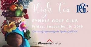 High Tea Fundraiser @ Pymble Golf Club | Sydney | NSW | Australia
